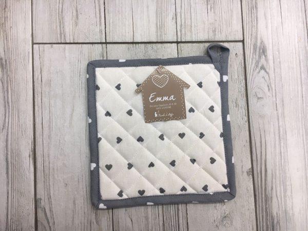 Presina quadrata emma cuoricino grigio j 39 aime boutique - Pasqualetti home decor ...