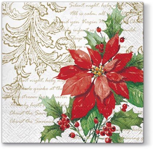 Stella Di Carta Natale.Tovaglioli Di Carta Stella Di Natale 2