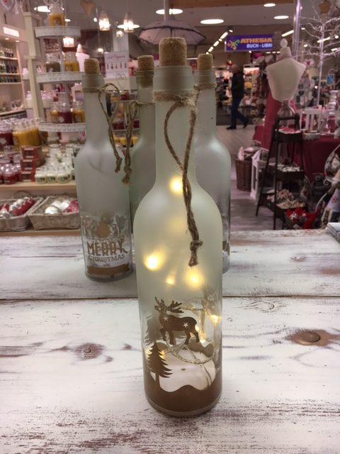 Bottiglia led renna gold j 39 aime boutique - Pasqualetti home decor ...